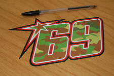 Nicky Hayden Camo 2013 Race Number - Large