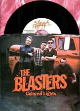 BLASTERS COLORED LIGHTS NEO ROCKABILLY PICTURE SLEEVE 45 RPM RECORD