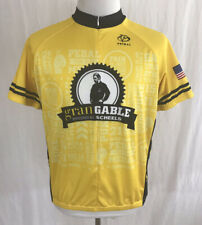 Dan Gable Iowa Hawkeye Wrestling - Gran Gable - Primal Cycling Jersey Men's XL