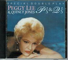 Peggy Lee & Quincy Jones P's & Q's CD OOP