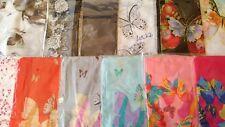 Joblot 24 pcs Butterfly & Flower design chiffon scarf wholesale 50x160 cm Lot 22