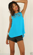 Women's Rayon Sleeveless Casual Tops & Blouses