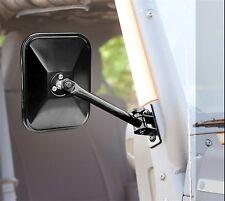 Rugged Ridge Quick Release Mirrors Rectangular Jeep Wrangler TJ LJ JK 97-16 PAIR