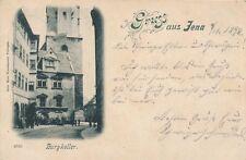 Ak, Gruss aus Jena, Burgkeller 1898, N1902