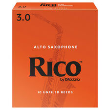 Rico Alto Saxophone Reeds Strength 3.0 (Box of 10)