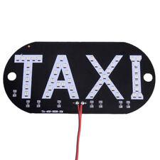 Auto Grün 45 LED Cab Taxi Taxischild Dachzeichen Licht Taxileuchte Lampe Stecker