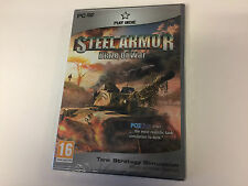 * PC NEW SEALED Game * STEEL ARMOR BLAZE OF WAR *