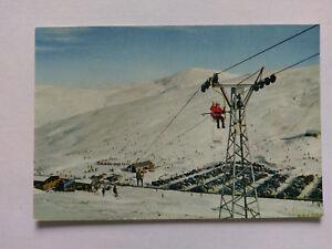 Glenshee Perthshire Vintage colour postcard c1970s Cairnwell Ski Chairlift