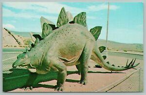 South Dakota~Stegasaurus~Dinosaur Nat'l Park~Vintage Postcard