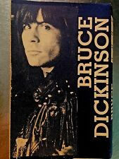 BRUCE DICKINSON CASSETTE TAPE Newcastle 1990 LIVE Iron Maiden NWOBHM ROCK METAL