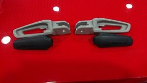 GENUINE DUCATI SUPERSPORT 939/950 FOOTPEG SET WITH RUBBER INSERTS