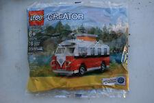 LEGO Creator Polybag 40079 Mini VW T1 Camper Van Neu OK incl. versich. Versand