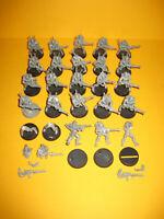 Warhammer 40k - Eldar - Craftworlds - 25x Guardians - Gardisten I