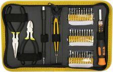 35 Piece Mini Precision Screw Driver Pliers Computer PC Repair Tool Case Set Kit