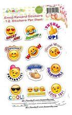 120 Emoji Reward Stickers great for teachers 4E's Novelty
