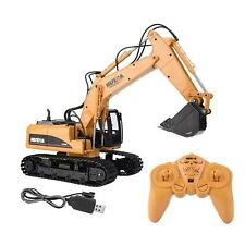 HUINA 1550 2.4G 15 Channels Remote Control Excavator Truck Engineering RC Toy