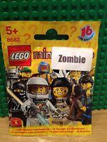 LEGO 8683 SERIES 1 .ZOMBIE BRAND NEW SEALED