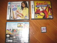 4 Nintendo DS Girls Lot:EnerG GymRockets,Tinkerbell,Cheetah Girls,Imagine Artist