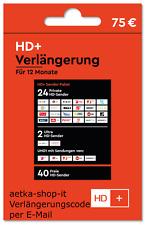 HD+ Plus Verlängerung TV HD Empfang 12 MonateTV Karten 01 02 03 04 05 Neu