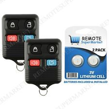 Replacement for Lincoln 2003-2005 Aviator 2000-2006 LS Remote Car Key Fob Pair