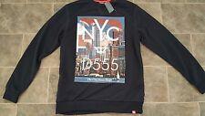 New Duke D555 New York Print Sweatshirt ( M)