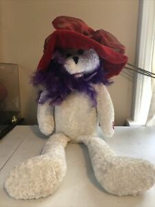 USED Chantilly Lane Musical Red Hatters Plush Sings Girls Just Wanna Have Fun
