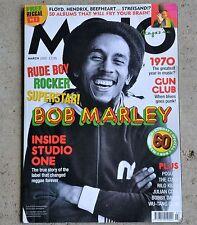 MOJO Music Magazine Bob Marley Pogues Bobby Darin The Cure Gun Club March 2005