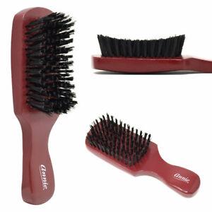 Annie Curved HARD Boar Bristle Wave Hair Brush Wooden Handle Premium Quality