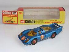 (WW) CORGI pre produzione di prova Porsche 917-MACCHIA ROSSA RUOTE 385
