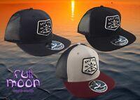 New Salt Life Fin Chaser Snapback Trucker Mens Cap Hat