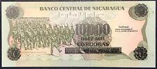 NICARAGUA 10000 CORDOBAS 1985 UNC