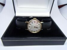 Ladies Tissot 9 Ct Yellow Gold Watch in excellent condition