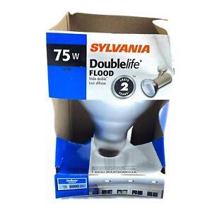 Sylvania 75W 120V Reflector DOUBLE LIFE FLOOD LIGHT BULB 15144 75BR/DL/FL/RP