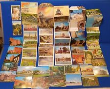 Vintage Postcard Lot Virginia Hersey Linen PA Folder NC Cherokee Wakulla Springs