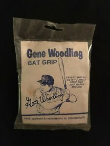 1950's GENE WOODLING New York Yankees Illustrated Official Bat Grip Unopened Pac