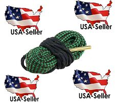 See Video!! Bore Snake 22 Cal 5.56 223 5.7x28 Caliber Barrel Cleaner 10/22