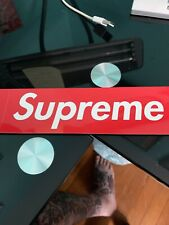 Supreme Red Bogo Sticker 100% Authentic FAST SHIPPING
