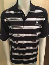 Mens Ping Brown Golf Polo Shirt Legacy Golf & Tennis Resort Port St Lucie Sz M
