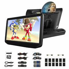 "2x11.6"" IPS Digital Screen Car Headrest TV Monitor DVD/USB/SD Player IR/FM Video"