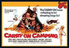 Carry On Camping Repro Film Poster
