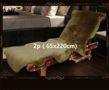 2.1'x7.2' 100% Real Fur Australia Sheepskin Lambskin Floor Rug Hide Pelt Carpet