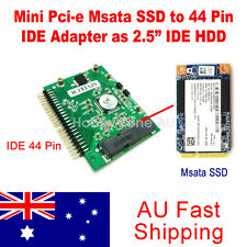 "Mini Pci-e Msata SSD to 44 Pin IDE Adapter as 2.5"" IDE HDD Adapter Converter"