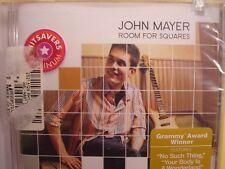 John Mayer-Room For Squares sealed cd