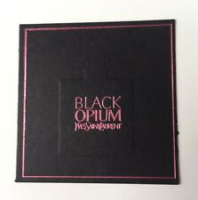 Jolie Carte Parfumée Black Opium Pink De Yves Saint Laurent