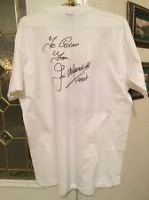 "Marshall Amp ""Jim Marshall"" Signed Shirt, Acquired @ '94 NAMM Convention, Rare !"