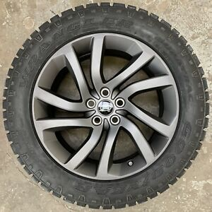 """Genuine Land Rover Discovery 5 Style 511 20"""" Alloy Wheels & Good Year Tyres x4"""