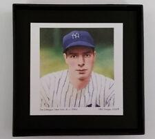 Joe DiMaggio, New York 3x3 Art Image in Frame, HOF player c. 1940's