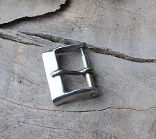 watchband buckle Acier 1960s/70s old stock Swiss Tropic 14mm vintage watch steel