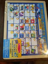 Melissa & Doug Monthly Magnetic Calendar with 134 Magnets