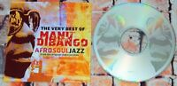 Manu Dibango - Afrosouljazz Very Best Of Manu Dibango CD Album 2000